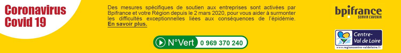 Information COP Région Centre - Covid-19