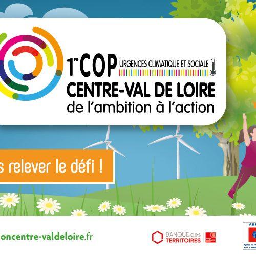 Urgences climatique et sociale: c'est ensemble que nous pourrons relever le défi ! 1er Cop centre-val de loire de l'ambition à l'action. tous invité !